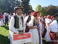 Setkání Hanáků v Čechách pod Kosířem 2018